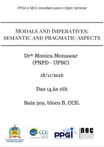 Open Seminar - Monica Monawar